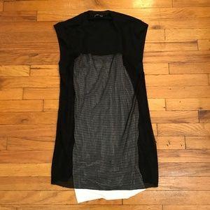 Zara WB Collection Mesh White Underlay Dress